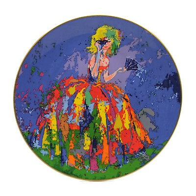 Vintage 1977 Leroy Neiman Royal Doulton Columbine Clown Collector Plate Ltd Ed.