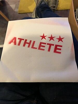 """Athlete - Westside 10"""" Vinyl With Stenciled Sleeve. Limited Edition"""