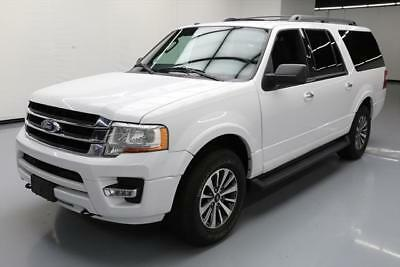 2016 Ford Expedition  2016 FORD EXPEDITION EL XLT ECOBOOST 4X4 8-PASS 45K MI #F31440 Texas Direct Auto