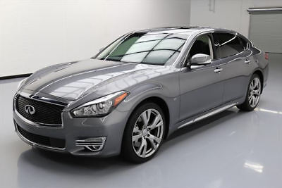 2016 Infiniti Q70 3.7 Sedan 4-Door 2016 INFINITI Q70L 3.7 PREMIUM SUNROOF NAV 20'S 41K MI #630451 Texas Direct Auto