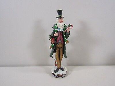 Roman Galleria Lucchese American Santa Through the Decades Pencil Santa Figure