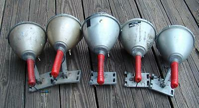 Lot of 5 Half Mile Ray Portable Light Vintage Boat Light Off Shipping Vessel