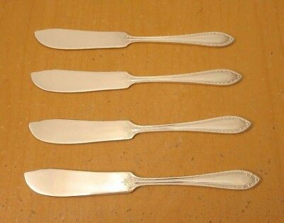 "Community Plate, 4-  6 1/4""  Butter Spreaders, ""Sheraton"" c: 1910 - 1942"