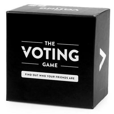 The Voting Game An Adult Party Game About Friendship Card Game (260 Cards)