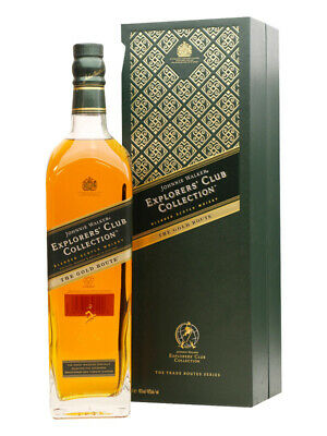 Johnnie Walker Gold Route Explorers' Club Collection 1 Litre(Boxed)