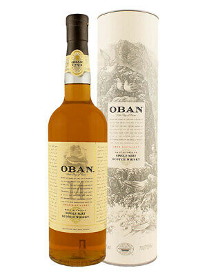 Oban 14YO Single Malt Scotch Whisky 700ml(Boxed)