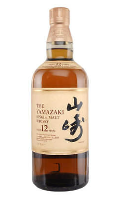 Yamazaki 12YO Single Malt Japanese Whisky 700ml(Boxed)