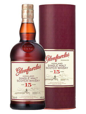 Glenfarclas 15YO Highland Single Malt Scotch Whisky 700ml(Boxed)