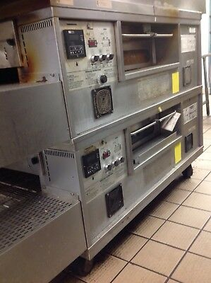 conveyor pizza oven middleby marshall ps 555 gas