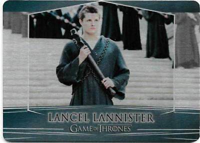 2017 Game of Thrones Valyrian Steel Base Metal Card #49 Lancel Lannister
