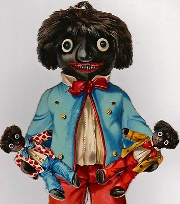 Raphael Tuck Mechanical Golliwogs Figures