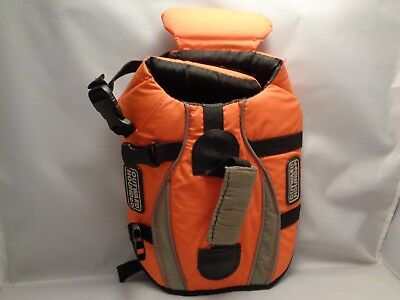 Outward Hound  Dog Life Jacket Vest With Handle Preowned Ex Cond For Small Dogs