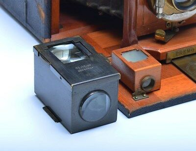 Large Antique Camera Viewfinder Adams & Co London