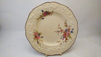 """Crown Ducal Marie Florentine Shape 8"""" Salad Plates in EXCELLENT Condition"""
