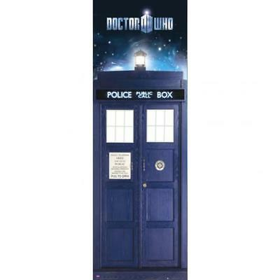 Doctor Who Door Poster Tardis Blue Fan Gift New Official Licensed BBC Product