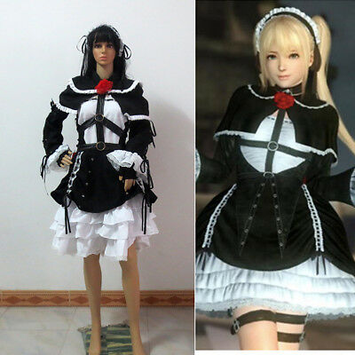 Dead or Alive Marie Rose Cosplay Costume Custom Made