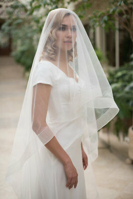 Custom Made Horsehair Bridal Veil