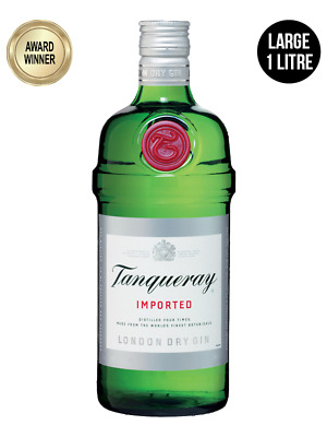 Tanqueray London Dry Gin 1 Litre
