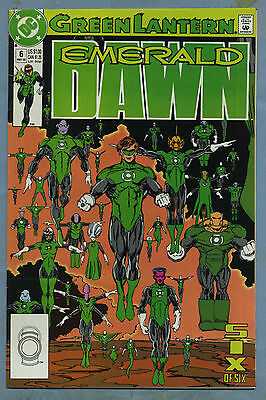 Green Lantern Emerald Dawn #6 1990 DC Comics v