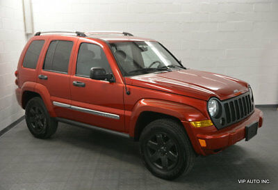 2006 Jeep Liberty 4dr Limited 4WD Jeep Liberty Limited 4x4 Leather Heated Seats Tow Package Sunroof