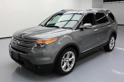 2014 Ford Explorer Limited Sport Utility 4-Door 2014 FORD EXPLORER LIMITED HTD LEATHER REAR CAM 60K MI #C36953 Texas Direct Auto
