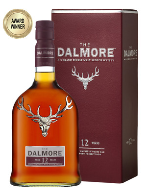 Dalmore 12YO Single Malt Scotch Whisky 700ml(Boxed)