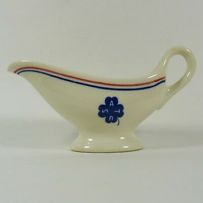 US Army Transport Old Ivory Syracuse Creamer WW2 Vintage Collectible 1930's