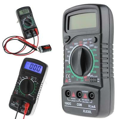 Digital Multimeter Current Voltmeter Volt Resistance OHM Tester Meter TS