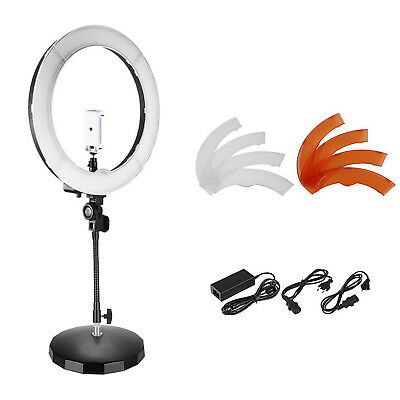 """Neewer 18"""" Outer SMD LED Dimmable Portrait Shooting Desktop Ring Light Kit"""