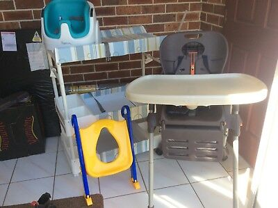 FREE Change table, booster seat, high chair, toilet seat Bulk pack