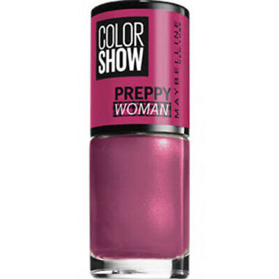 Maybelline Nail Polish   Color Show Preppy Woman   Assorted Colours   7ml