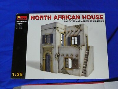 New North African House Building For Diorama 1/35 Miniart Plastic Kit #35540