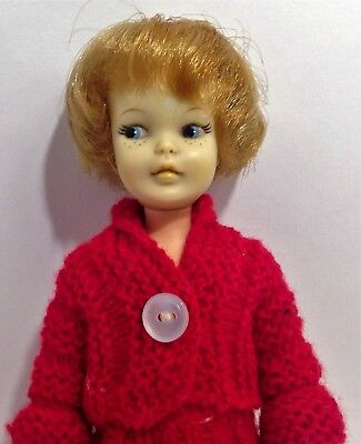 Vintage Ideal 60's Pepper doll made in Japan blond hair blue eyes