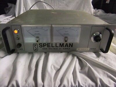 spellman high voltage dc supply ,labs,research