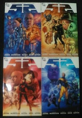 DC 52 Fifty-Two Trade Paperback lot of four (complete series!)