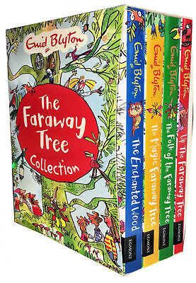 *Express Delivery* Enid Blyton The Magic Faraway Tree Collection 4 Books Set