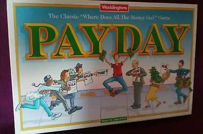 Payday Board Game By Waddingtons Vintage Edition  Dated 1994 Complete