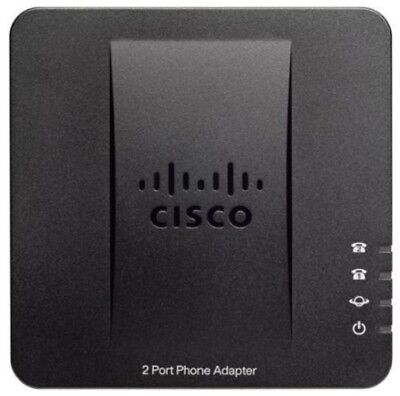 Cisco SPA112 (2-Port) Phone Adaptor with VoIP