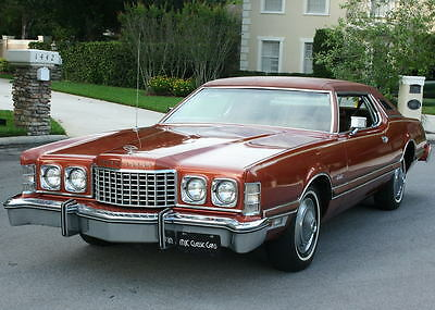 1976 Ford Thunderbird SURVIVOR - ORIGINAL PAINT - 26K MI ONE OWNER LUXURY COUPE -1976 Ford Thunderbird Coupe  - 26K ORIG MI