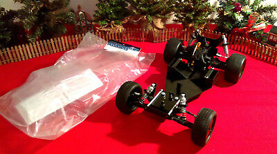 Vintage Team Associated RC10 Mid incl NIP Viper Body (Global Shipping Available)