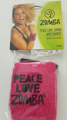 Zumba Wristband womens 2 Pack