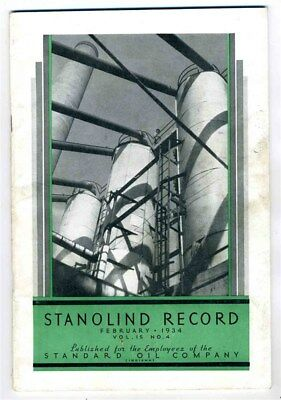 STANOLIND Record February 1934 Iron & Steel Chicago's Fair Bonnets for Babies