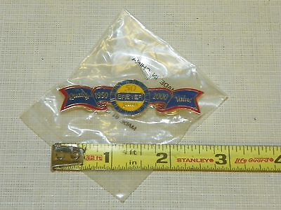 Breyer Horses Quality 1950 50 Years 2000 Value Ribbon Lapel Tie Button Pin NEW