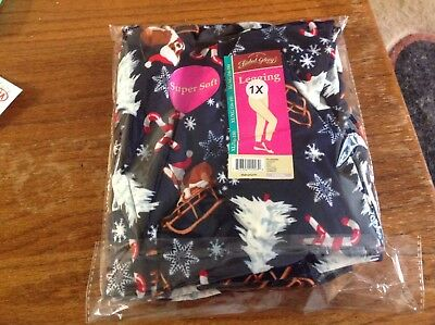 Pembroke Welsh Corgi Cute  Holiday Leggings Size 1X New With Tags