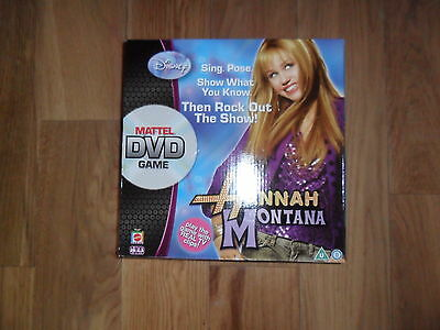 Disney Hannah Montana Dvd game
