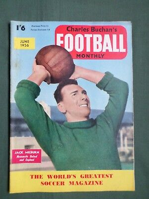 Charles Buchan's- Football Mag - June 1956 - Billy Liddle - Portsmouth