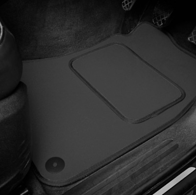 Dark Grey SUPER VELOUR Car Floor Mats Set To Fit Ford Mondeo (2014 on)