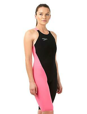 Speedo Fastskin Lazer Elite V2 Closed Back Kneeskin 8091718441 Black/Pink