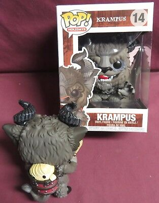 "Brand New, Pop Holidays , From The Movie,  ""krampus"", With A Bad Kid, Figure"