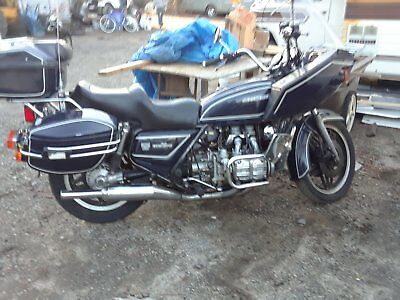 1981 Honda Gold Wing  1981 HONDA GOLDWING 1100